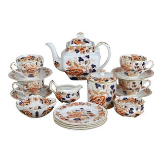 Late 19th Century Enoch Wedgwood Tea Set For Sale