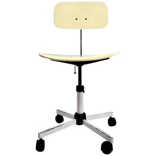 Adjustable Danish Modern Kevi Desk Task Swivel Chair For Sale