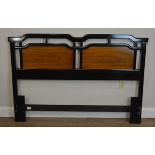 Thomasville Embassy Collection Vintage Asian Inspired Queen Headboard Preview