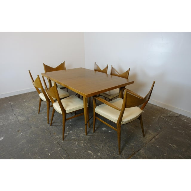 1950s Mid Century Modern Paul McCobb Dining Set - 7 Pieces For Sale - Image 12 of 12