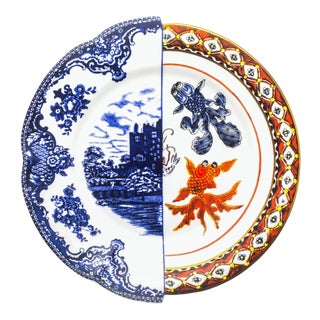Seletti, Hybrid Isaura Dinner Plate, Ctrlzak, 2011/2016 For Sale