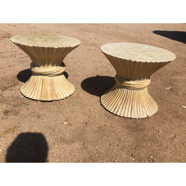 1980s Moorish Cane Side Tables - a Pair For Sale - Image 9 of 9