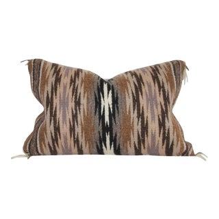 Navajo Indian Weaving Kidney Pillow For Sale