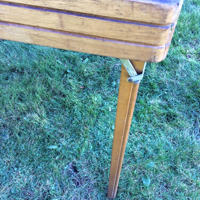 Vintage Five in One Game Table For Sale In New York - Image 6 of 10
