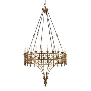 Crenshaw Lighting Artisan Kylemore Ring Chandelier For Sale