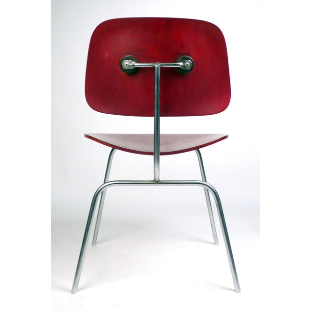 Modern Early Production DCM by Charles Eames For Sale - Image 3 of 6