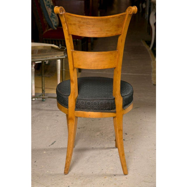 Set Six Biedermeier Style Side Chairs Dining Chairs With Ebony Inlay Can Buy One - Image 9 of 9