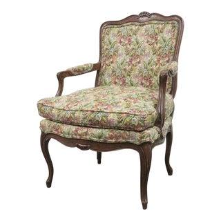 20th Century Louis XV Style Oak Arm Chair For Sale