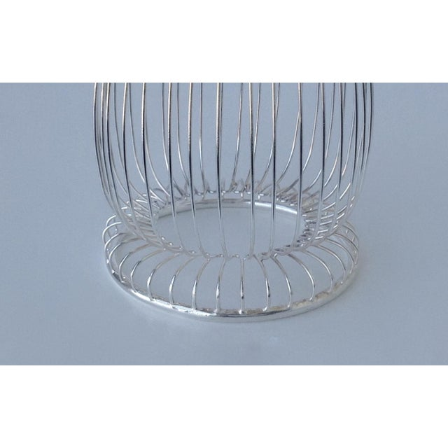 Newport by Gorham Silver Wine Bottle Holder For Sale In West Palm - Image 6 of 11