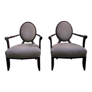Barbara Barry Baker Chairs - a Pair For Sale