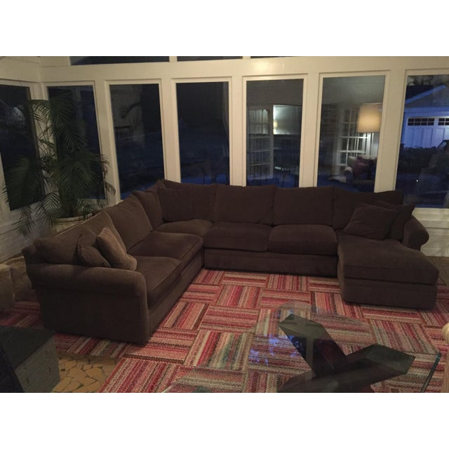 Room Amp Board Kendall Collection L Shaped Sectional With