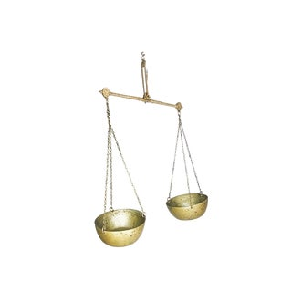 Hanging Brass Scale