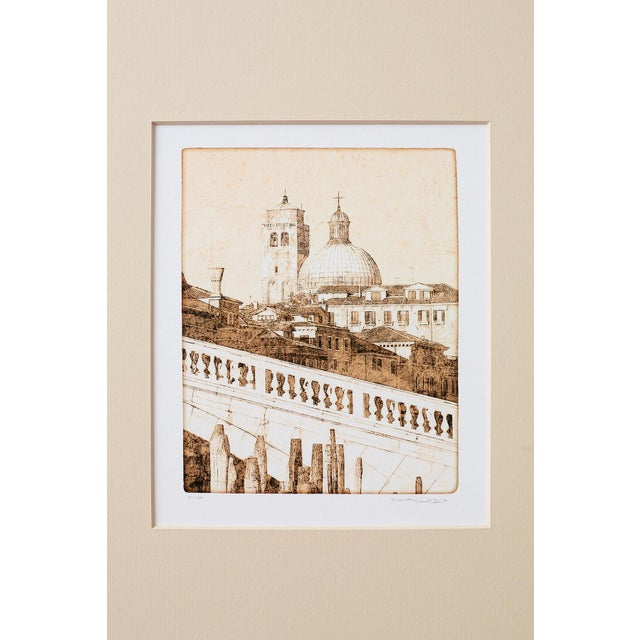 Set of Twelve Architectural Landscape Etchings by Kenneth Gregg For Sale - Image 9 of 13