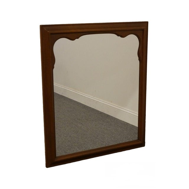 Late 20th Century Vintage Kindel Grand Rapids Dresser / Wall Mirror For Sale - Image 11 of 11