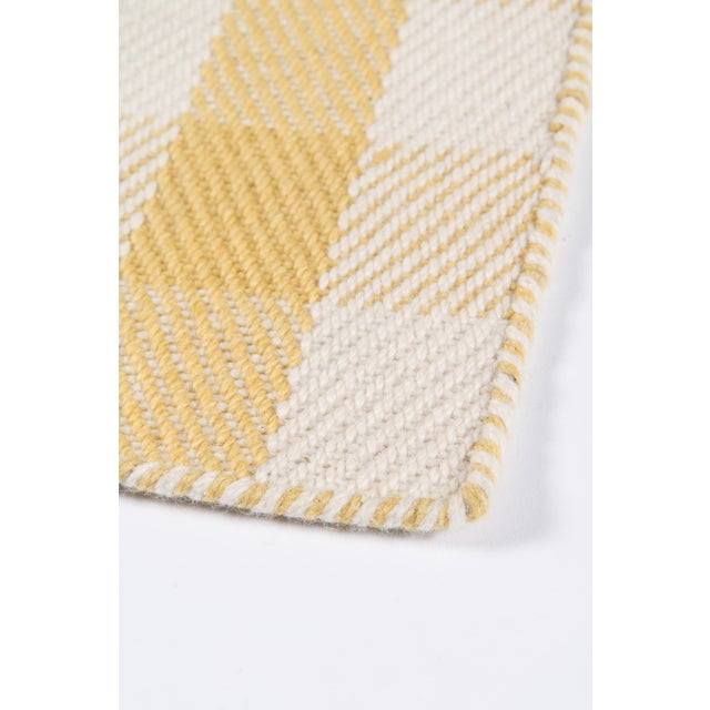 """Madcap Cottage Highland Fling a Scotch Please Gold Area Rug 7'9"""" X 9'9"""" For Sale In Atlanta - Image 6 of 8"""