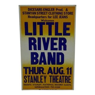 Vintage Little River Band Concert Poster For Sale