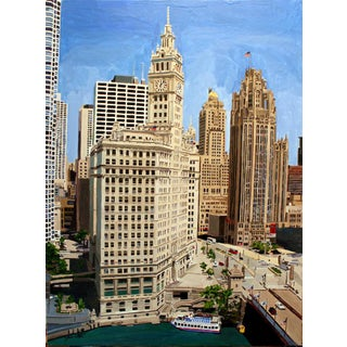 """Chicago's Splendor"" Giclee Print of the Painting For Sale"