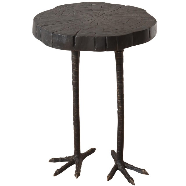 Iron Ostrich Side Table - Image 1 of 3
