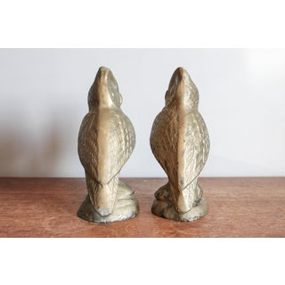 Vintage Brass Owl Bookends - a Pair Preview