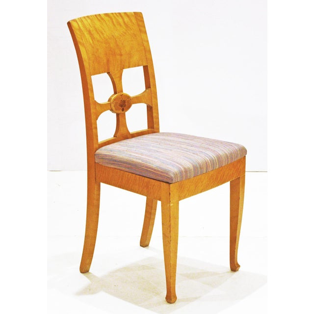 Set of Six Chairs, by Anton Kjaer, Copenhagen For Sale - Image 4 of 8