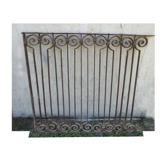 Antique Victorian Iron Gate - Image 2 of 6