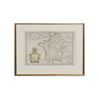 Antique Map of Ancient Gaul For Sale