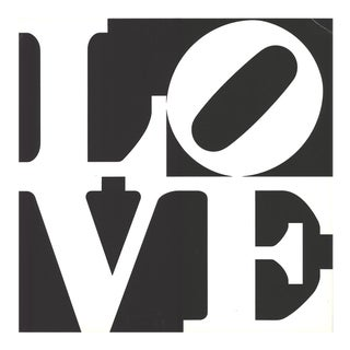 Robert Indiana-love from Multiples-1968 Serigraph