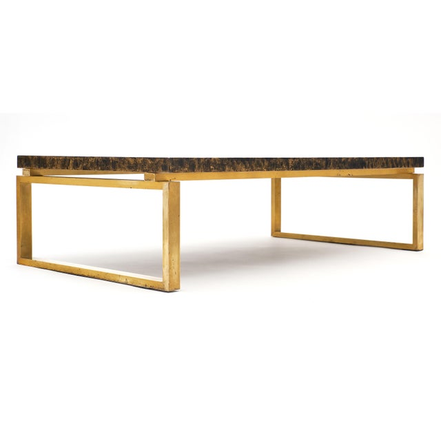 Mid-Century French Altuglass Coffee Table For Sale - Image 9 of 10