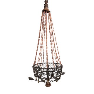Montgolfier Style French Chandelier For Sale