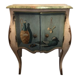 Vintage Italian Trompe L'oeil Chest For Sale