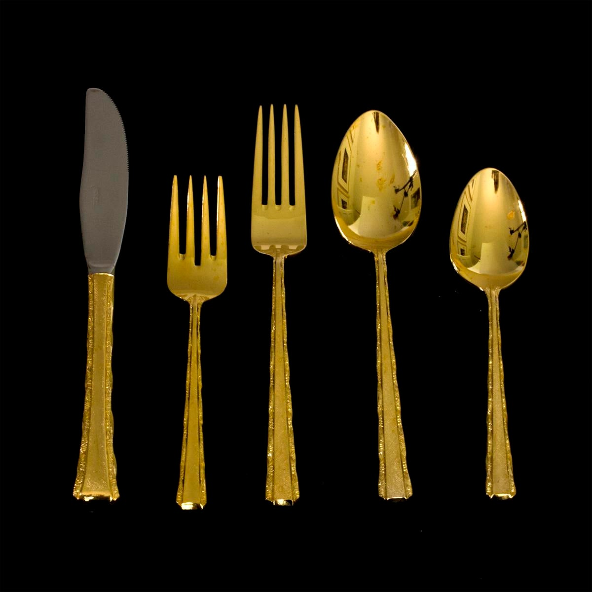 Vintage Gold Plated Dinner Service - 104 Pieces - Image 2 of 5  sc 1 st  Chairish & Vintage Gold Plated Dinner Service - 104 Pieces | Chairish