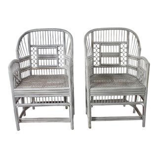Boho Chic Brighton Pavilion Chairs - a Pair For Sale