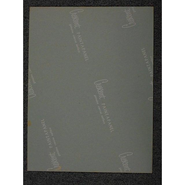 Impressionism Vintage Ltd. Ed. Serigraph-Mark Coomer-Listed American Artist-Composer Franz Schubert For Sale - Image 3 of 3