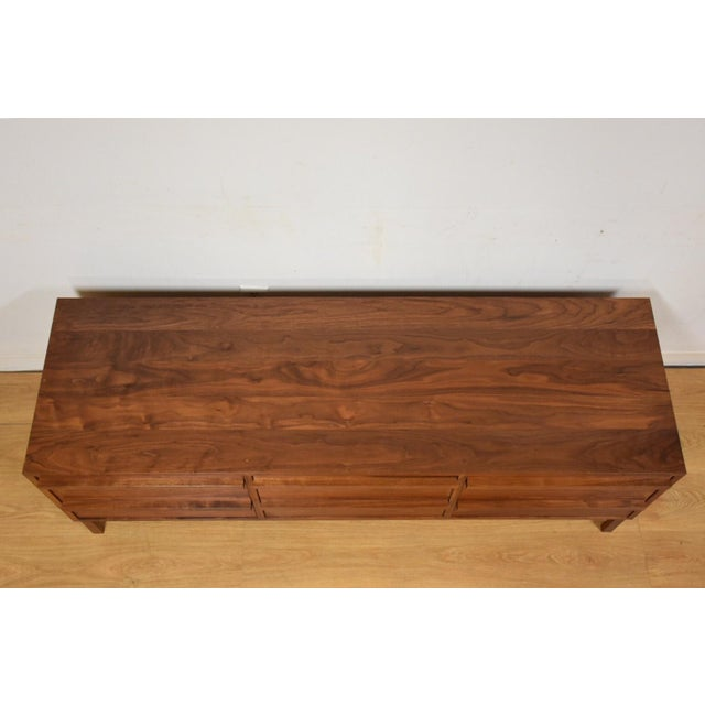 Atlantico Walnut Dresser Credenza - Image 6 of 11
