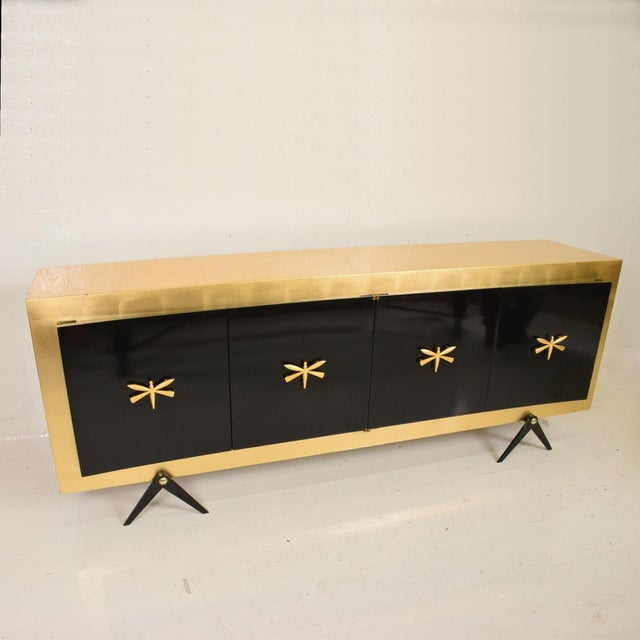 1950s Mid-Century Mexican Modernist Credenza After Arturo Pani For Sale - Image 5 of 10