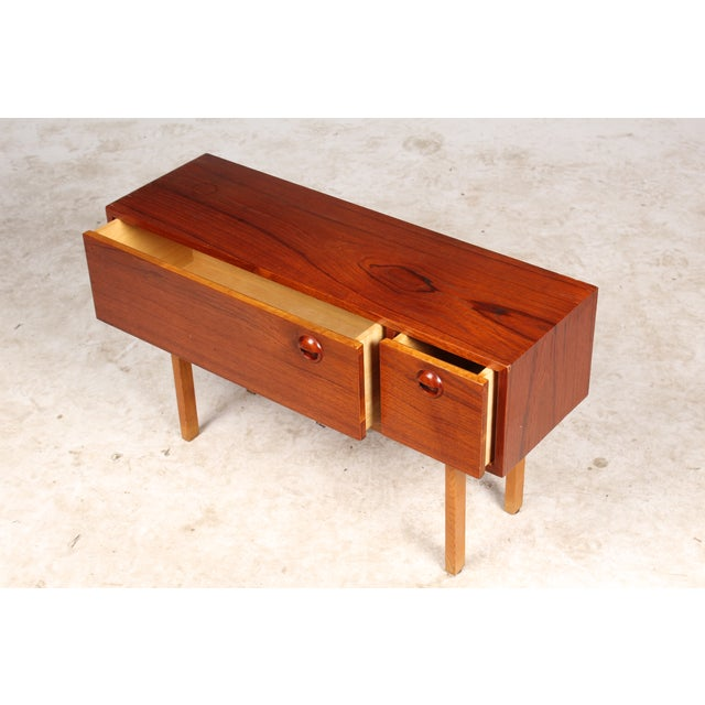 1960s Danish Modern Side Table - Image 4 of 5