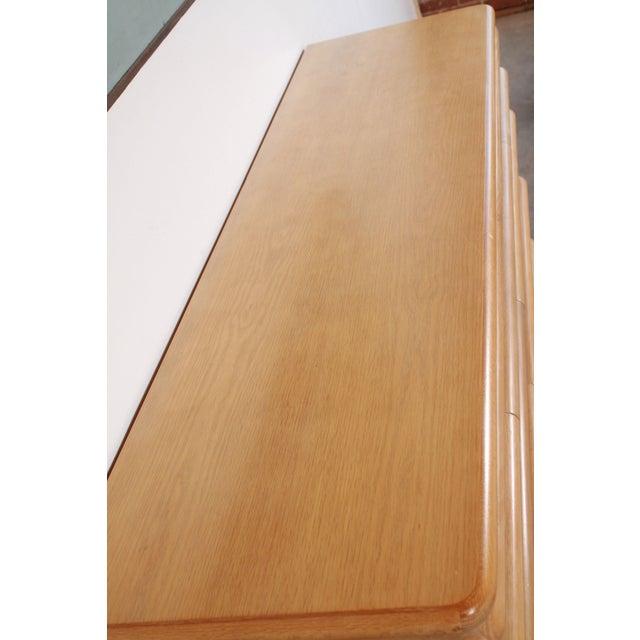 Jay Spectre 1980s Vintage Jay Spectre for Century Furniture Cerused Oak Dresser For Sale - Image 4 of 13
