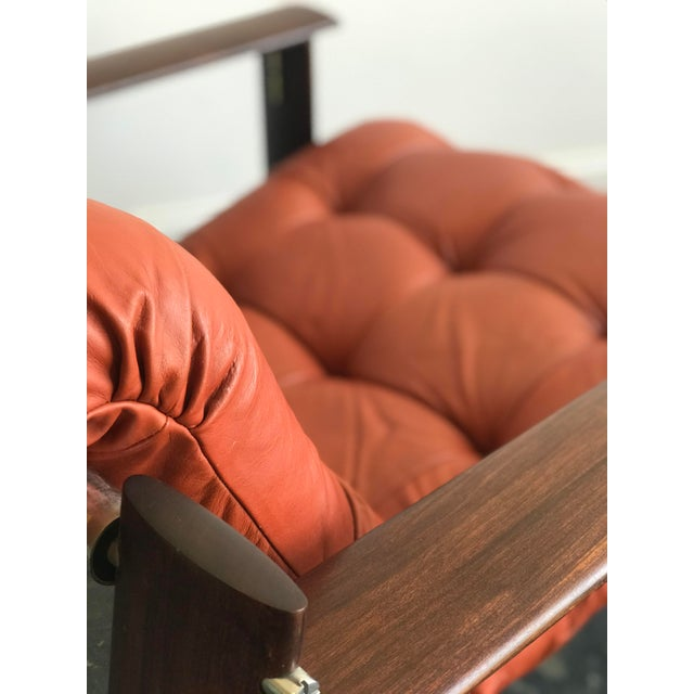 1970s Mid Century Modern Model Mp-129 Percival Lafer Lounge Chair For Sale - Image 5 of 11