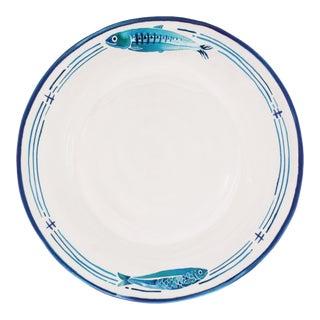 """Santorini 11"""" Melamine Dinner Plate, Set of 4 For Sale"""