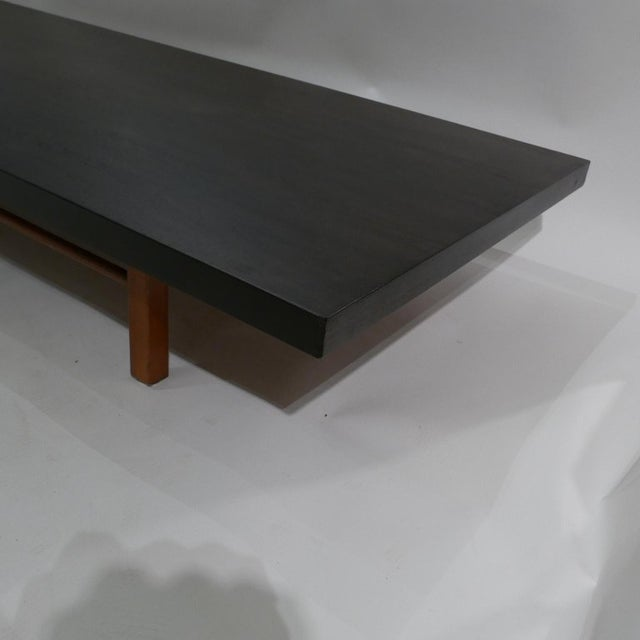 Milo Baughman for Thayer Coggin Low Table or Gallery Bench With Cushions For Sale - Image 9 of 13