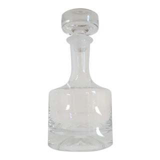 Romanian Hand Blown Crystal Wine Decanter