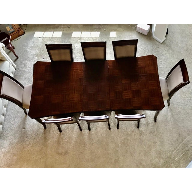 Coffee Contemporary Dining Set For Sale - Image 8 of 13