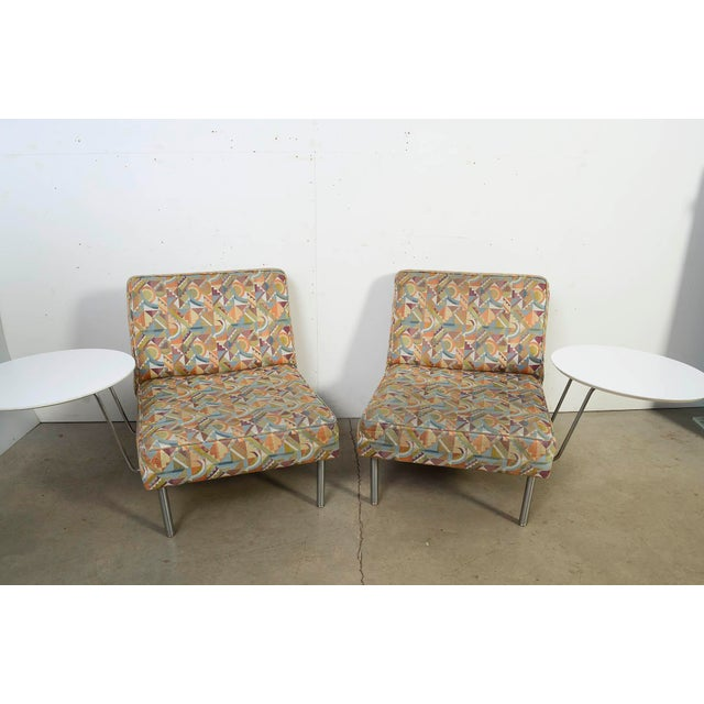 Wondrous 1950S Vintage George Nelson Lounge Chairs A Pair Pabps2019 Chair Design Images Pabps2019Com