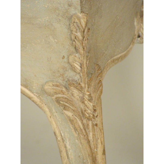 Wood Louis XV Painted Occasional Table For Sale - Image 7 of 9