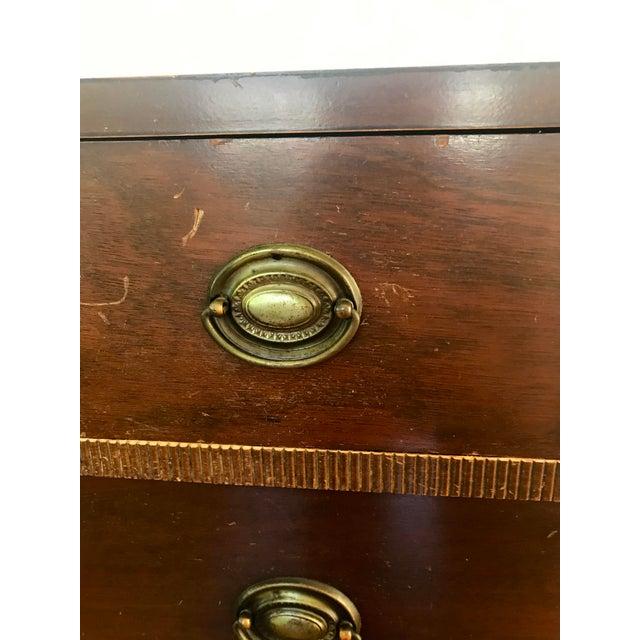Brown Vintage Cavalier Stow Away Cedar Dresser For Sale - Image 8 of 13