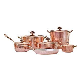 Amoretti Brothers Copper Cookware - Set of 6 For Sale