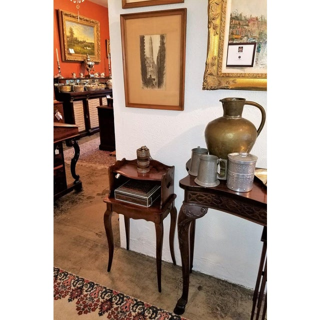 French Country 18th Century French Country Cherrywood Side Table For Sale - Image 3 of 10