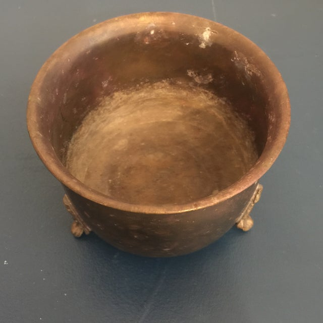Brass Plant Container For Sale - Image 4 of 8