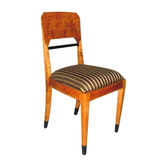Swedish Biedermeier Accent Chair - Image 1 of 7