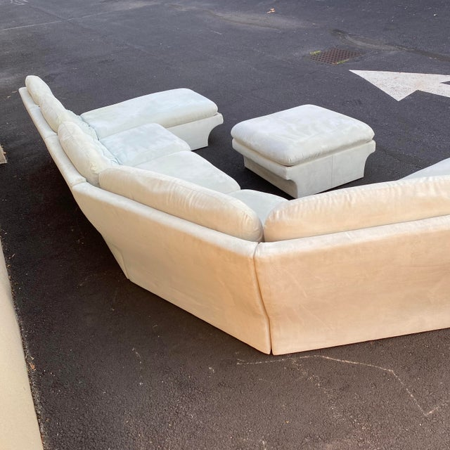 Vladimir Kagan for Preview 7 Piece Modular Sectional For Sale - Image 10 of 13